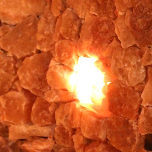 Über fünfzehn Tonnen Salzkristalle